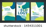 set of template design of... | Shutterstock .eps vector #1454311001