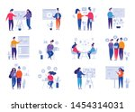 collection of illustrations...   Shutterstock .eps vector #1454314031