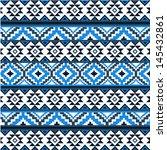 ethnic pattern | Shutterstock .eps vector #145432861