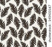 seamless pattern with stylish... | Shutterstock .eps vector #145433167