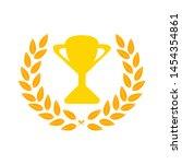 award icon. flat illustration... | Shutterstock .eps vector #1454354861