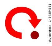 loading icon. flat illustration ...   Shutterstock .eps vector #1454354951