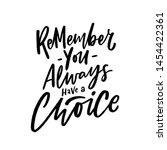 modern lettering slogan you... | Shutterstock .eps vector #1454422361