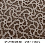 handmade embroidery made with...   Shutterstock . vector #145444591