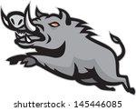 boar,head,illustration,isolated,jumping,pig,razorback,retro,tusk,wild pig,wildlife