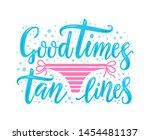 hand drawn lettering phrase... | Shutterstock .eps vector #1454481137