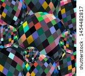 Colorful Crystal Balls Abstrac...