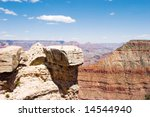 scenery from grand canyon in... | Shutterstock . vector #14544940
