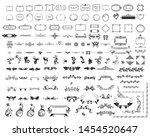 mega set or collection... | Shutterstock .eps vector #1454520647