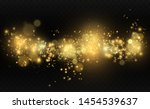 beautiful sparks shine with... | Shutterstock .eps vector #1454539637