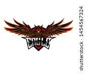 e sport eagle logo design | Shutterstock .eps vector #1454567324