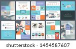 business annual report creative ...   Shutterstock .eps vector #1454587607