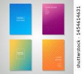 minimalist cover design...   Shutterstock .eps vector #1454614631
