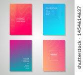 minimalist cover design...   Shutterstock .eps vector #1454614637