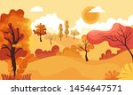 Autumn Landscape.panoramic Of...
