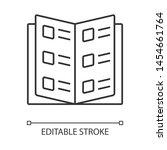 business catalog  reference... | Shutterstock .eps vector #1454661764