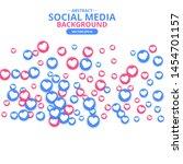social network marketing like... | Shutterstock .eps vector #1454701157
