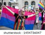 london  uk   july 6th 2019  a... | Shutterstock . vector #1454736047