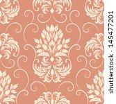 vector damask seamless pattern... | Shutterstock .eps vector #145477201