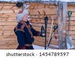 tromso  norway    december 2018 ...   Shutterstock . vector #1454789597