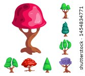 bitmap illustration of tree and ...   Shutterstock . vector #1454834771