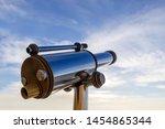 Monocular Telescope At Sunset...