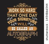 motivation slogan and quote.... | Shutterstock .eps vector #1454866544