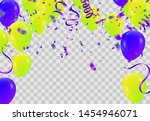 balloons  vector illustration.... | Shutterstock .eps vector #1454946071
