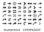 Arrow icon. Big set of vector flat arrows. Collection of concept arrows for web design, mobile apps, interface and more.