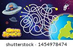 space race game background... | Shutterstock .eps vector #1454978474