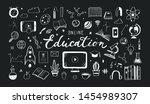 online distance education ...   Shutterstock .eps vector #1454989307