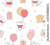 draw seamless pattern... | Shutterstock .eps vector #1455088601