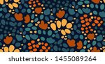 simple seamless floral pattern... | Shutterstock .eps vector #1455089264