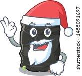 santa garbage bag behind the... | Shutterstock .eps vector #1455091697