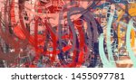 crazy sketch random pattern.... | Shutterstock . vector #1455097781