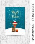 vesele vanoce on czech language ... | Shutterstock .eps vector #1455113111