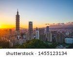 Panoramic View Of Taipei City...