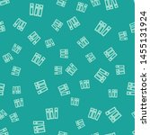 green office folders with... | Shutterstock .eps vector #1455131924