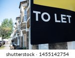 Estate Agent \'to Let\' Sign On...