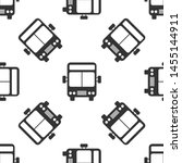 grey bus icon isolated seamless ... | Shutterstock .eps vector #1455144911