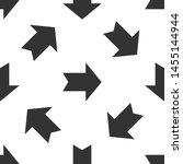 grey arrow icon isolated... | Shutterstock .eps vector #1455144944