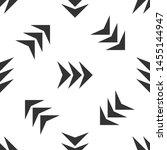 grey arrow icon isolated... | Shutterstock .eps vector #1455144947