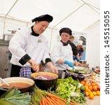 amsterdam   june 29  chefs cook ... | Shutterstock . vector #145515055