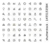 business analytics line icon...   Shutterstock .eps vector #1455153584