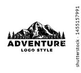 vintage logo for adventure and...   Shutterstock .eps vector #1455157991