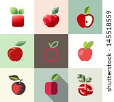 apple,background,closeup,decorative,delicious,design,diet,dieting,eat,element,emblem,food,fresh,fruit,green