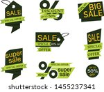 collection of sale discount... | Shutterstock .eps vector #1455237341