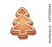 vector icon of christmas cookie | Shutterstock .eps vector #1455300464