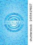 unusually sky blue mosaic emblem | Shutterstock .eps vector #1455419837