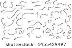 vector arrow set  arrows  point ...   Shutterstock .eps vector #1455429497